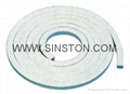 Acrylic fiber packing with PTFE