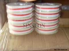 Corruaged graphite tape