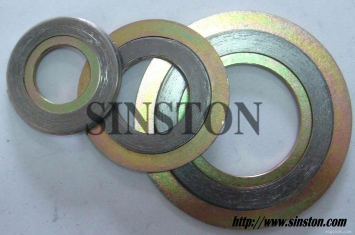 Spiral wound gasket with outer ring 3