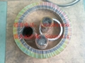 spiral wound gasket with inner and outer