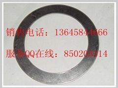 stainless steel reinforced graphite gasket with outer eyelet