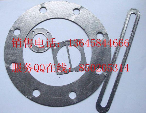 stainless steel reinforced graphite gasket with outer eyelet 2