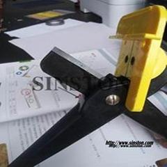 剪刀式盤根切割工具