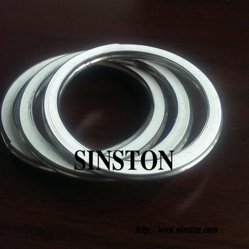 不锈钢304+四氟基本型金属缠绕垫片 2