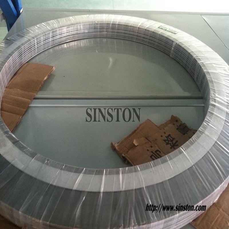 SS316不锈钢内外环金属缠绕垫片 2
