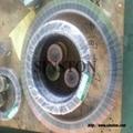 SS316不鏽鋼內外環金屬纏繞墊片 3