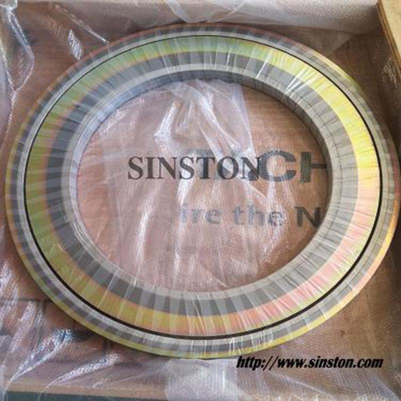 SS304不锈钢内外环金属缠绕垫片 5