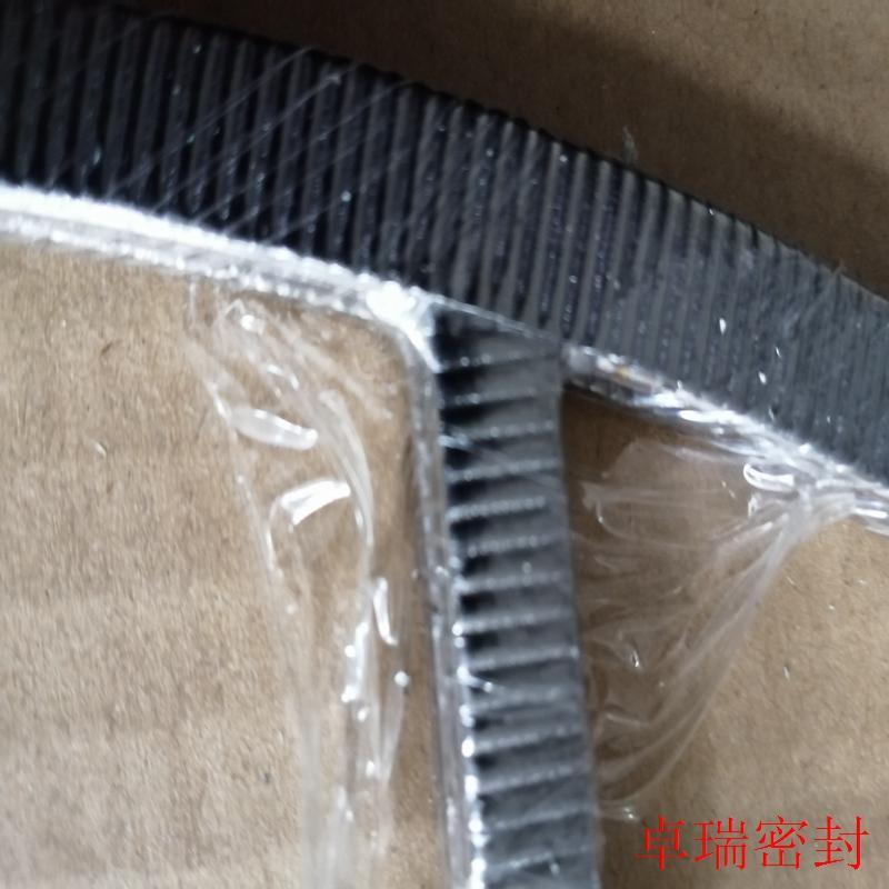 双面贴石墨波纹带齿形组合垫片 10