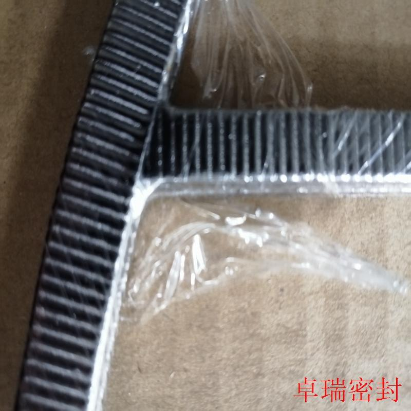 T partition ribs kammprofile gasket with grahite tape coated 4