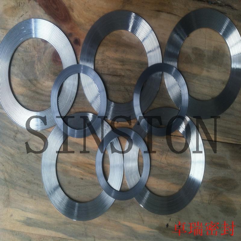 SS304 graphite seal gasket 2