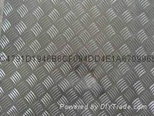 防滑铝板防滑花纹铝板厂家