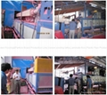 PVC spray silk carpet production line
