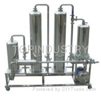 Health wine processing filtering machine