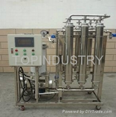 Red wine, fruit wine Drinks juice vegetable juice, Edible oil filtration equipme