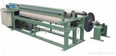 Fiberglass warping machine