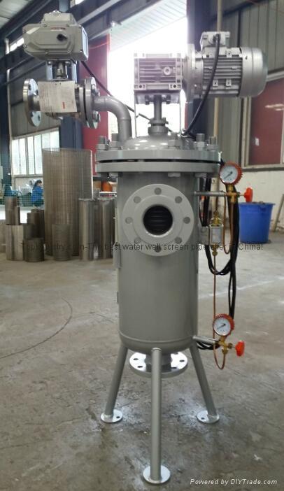 TPX系列刷式自清洗過濾器 1