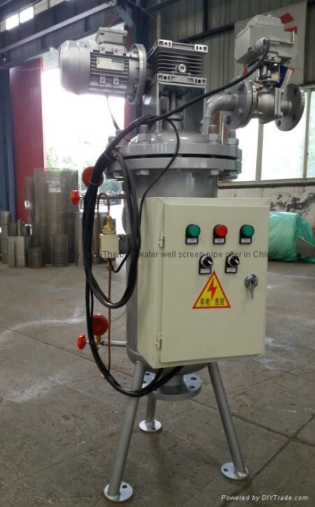TPX系列刷式自清洗过滤器 2