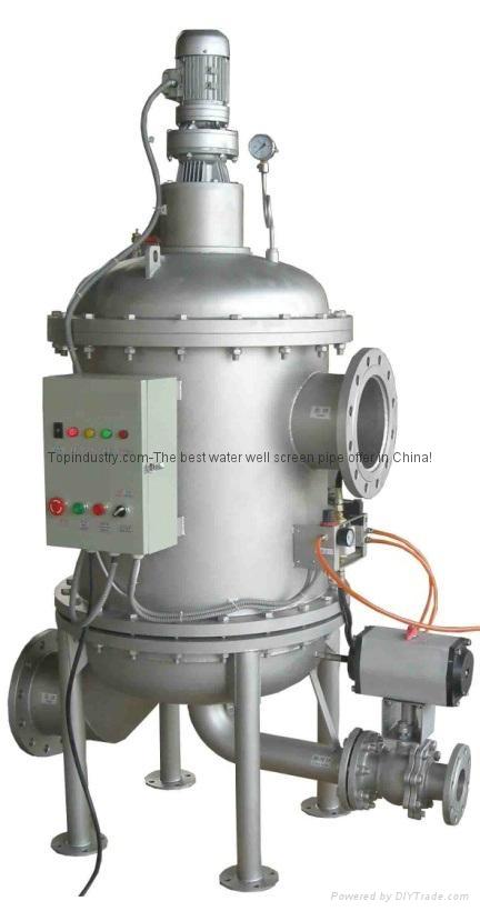 TPB 自動反沖洗過濾器 1