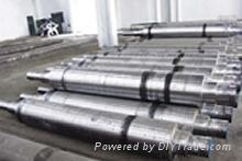 9Cr2Mo轧辊钢辊轴锻件