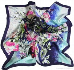Silk Digital Printed Scarf