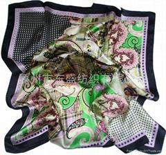 Silk Digital Printed Scarf