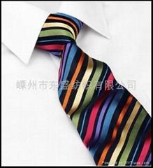 1200針滌絲提花領帶