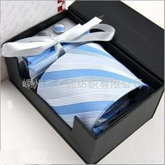 [廠家批發直銷]100%真絲領帶禮盒