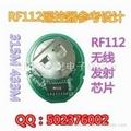 自带编码 315M无线发射模块 小体积无线模块 无线发射芯片 无线模块 RF112 3