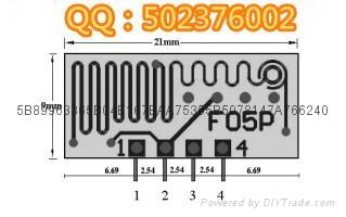 低功耗无线模块 小体积无线模块 无线发射模块F05P 2