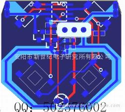 315M无线发射模块 四键无线遥控器4002 2
