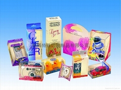 化妝品包裝膠盒飾品包裝膠盒PVC膠盒PP盒玩具膠盒