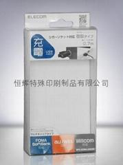 手机充电器PET胶盒