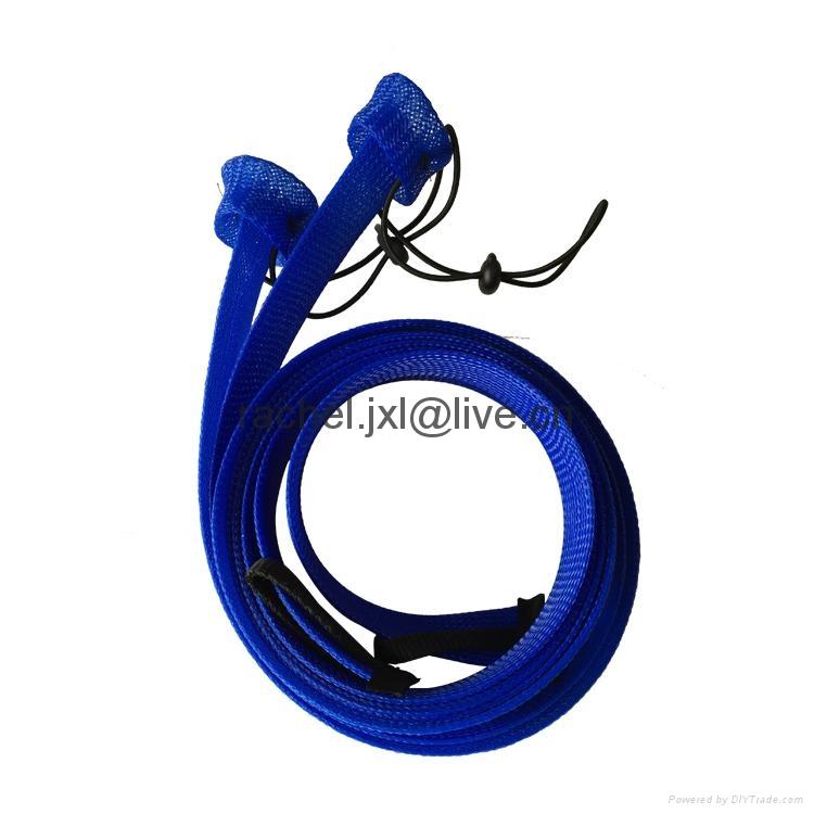 釣魚竿套 魚具保護套管 PET編織網套 4
