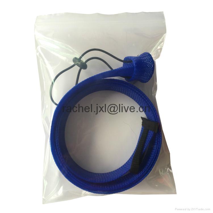 釣魚竿套 魚具保護套管 PET編織網套 8