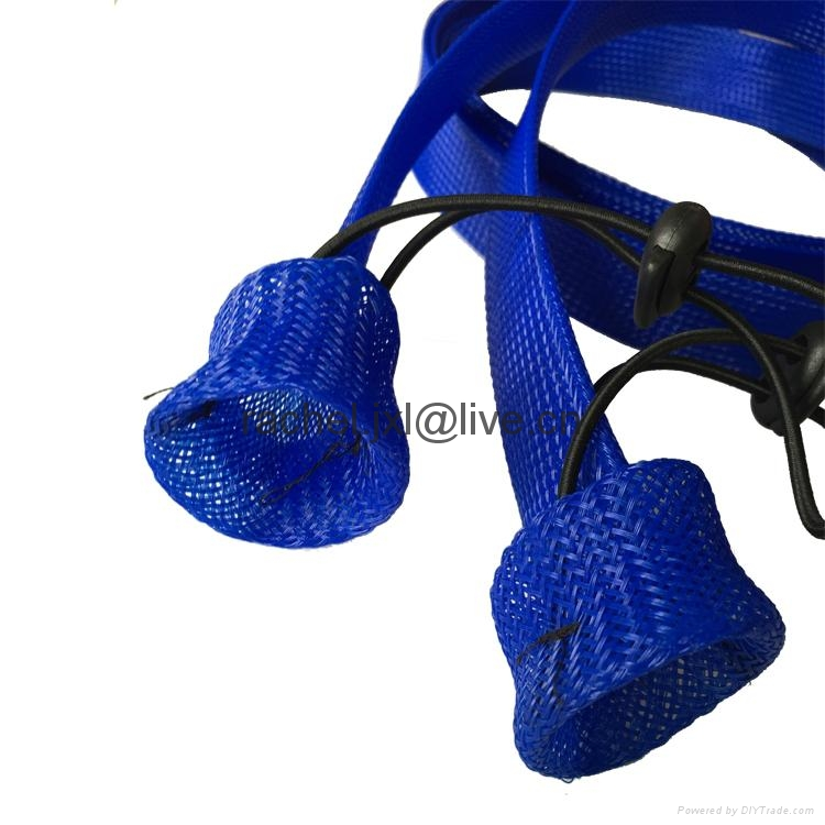 釣魚竿套 魚具保護套管 PET編織網套 10