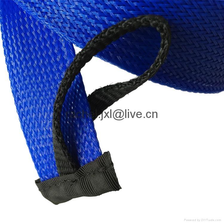 釣魚竿套 魚具保護套管 PET編織網套 6