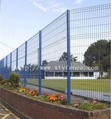 welded V mesh fencing