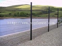 hot sales curvy fence panel