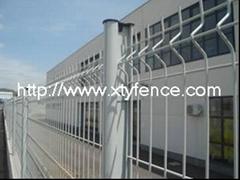 Best price curvy welded fence