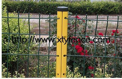 Best price galvanized pvc coated garden fence panels 3