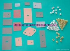 专业生产矽胶片,TO-220绝缘粒