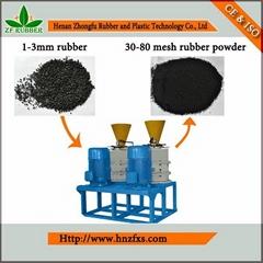 Henan Zhongying Tyre Shredder Plant- Rubber Fine Milling Machine