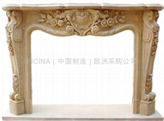 caminetto, Kamin, fireplace