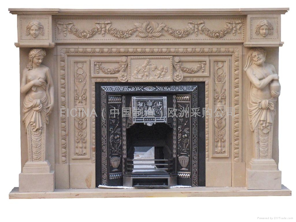 Caminetto Kamin Fireplace