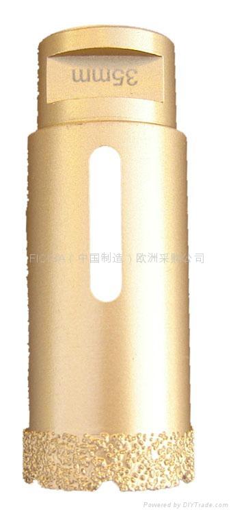brazed Vacuum Core Drill  for Porcelain Tiles