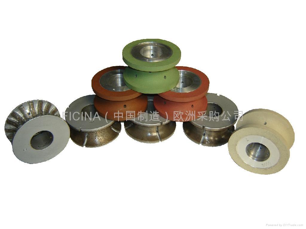 Bullnose profile wheels for granites on CNC machines 2