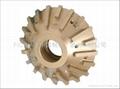 Bullnose profile wheels for granites on CNC machines 3