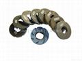 Bullnose profile wheels for granites on CNC machines 5