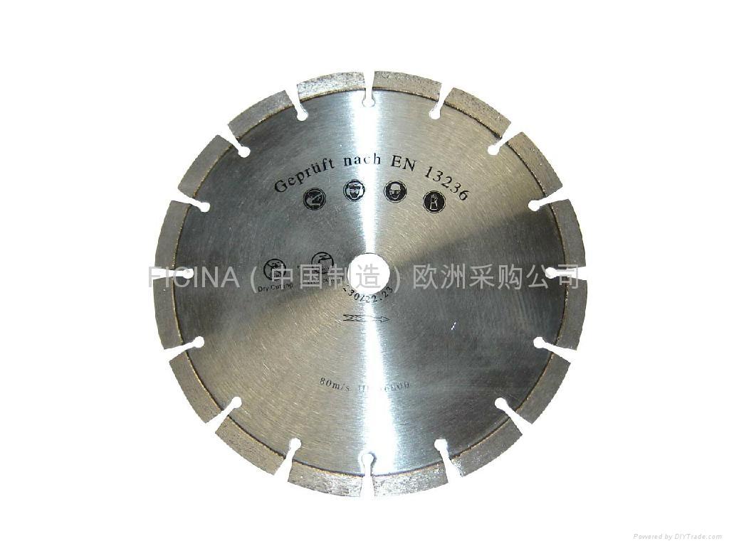 Segmented saw blades for cutting granites 4