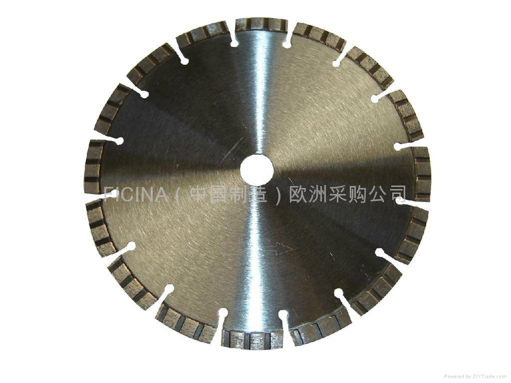 Segmented saw blades for cutting granites 5
